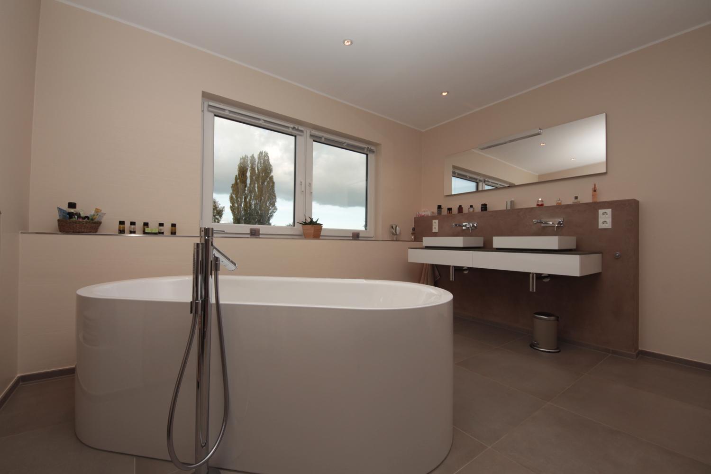Salle De Bain Avec Baignoire rénovation de salles de bains avec baignoire îlot | françois